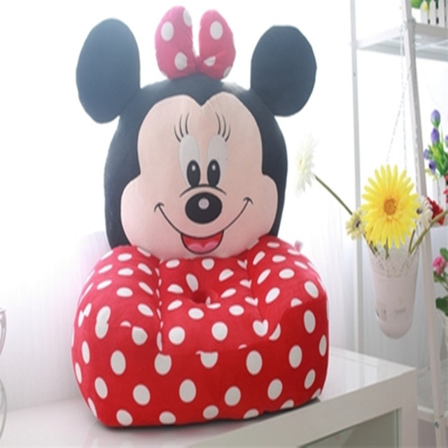 Cartoon Minnie Mouse Children Sofa,Children Chair,Single Small Sofa,Removable  And Washable