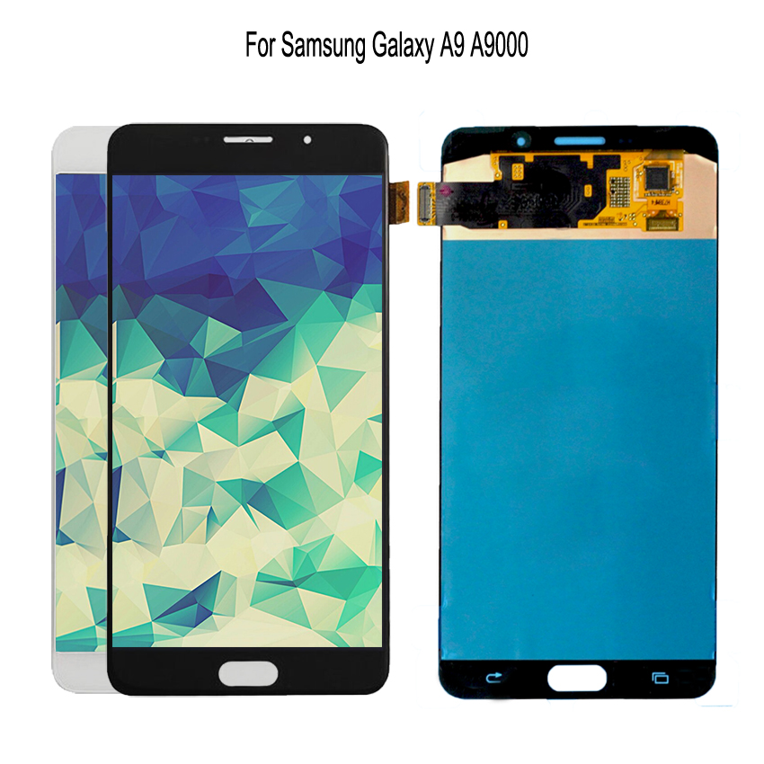 AMOLED For SAMSUNG Galaxy Samsung Galaxy A9 A9000 A900 SM-A9000 Touch Screen Digitizer Replacement Phone Parts Free ToolsAMOLED For SAMSUNG Galaxy Samsung Galaxy A9 A9000 A900 SM-A9000 Touch Screen Digitizer Replacement Phone Parts Free Tools