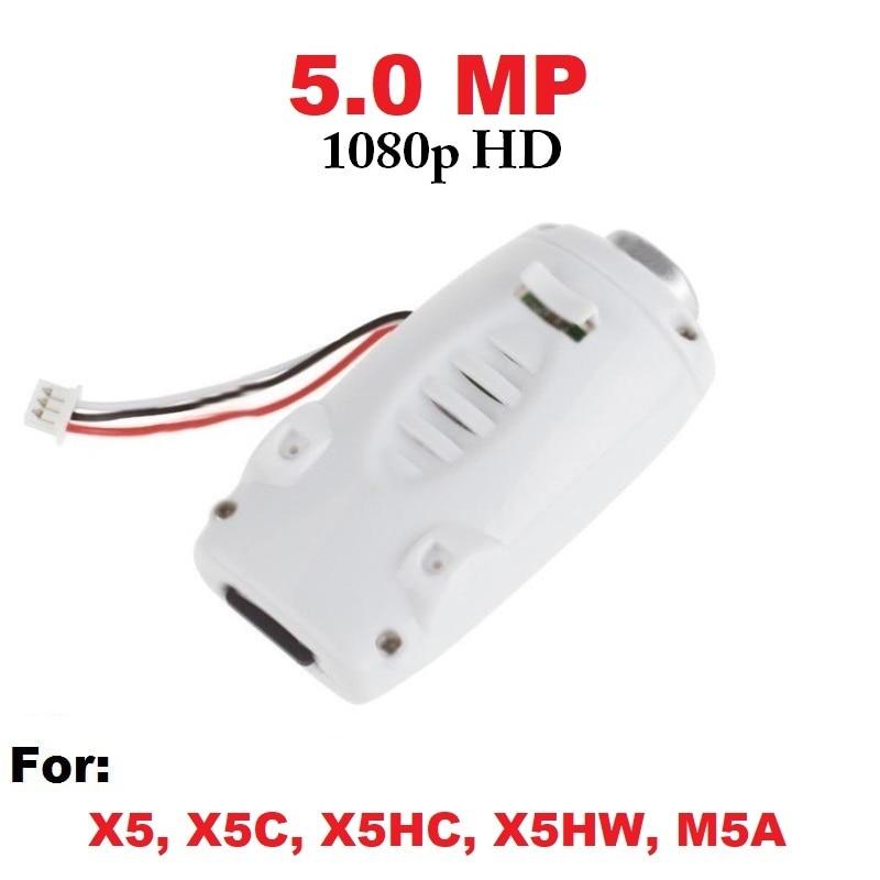 5mp 1080 p HD cámara con 8 GB tarjeta de memoria para Syma x5c X5 x5hc x5hw RC drone quadcopter Accesorios x5c repuestos actualización