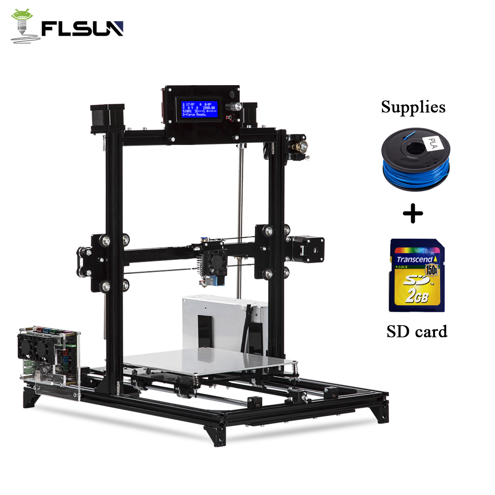 Flsun Neswest 3D Printer I3 Auto-leveling Large Size 300x300x420mm Printer 3D Heated Bed Two Rolls Filament No Taxes