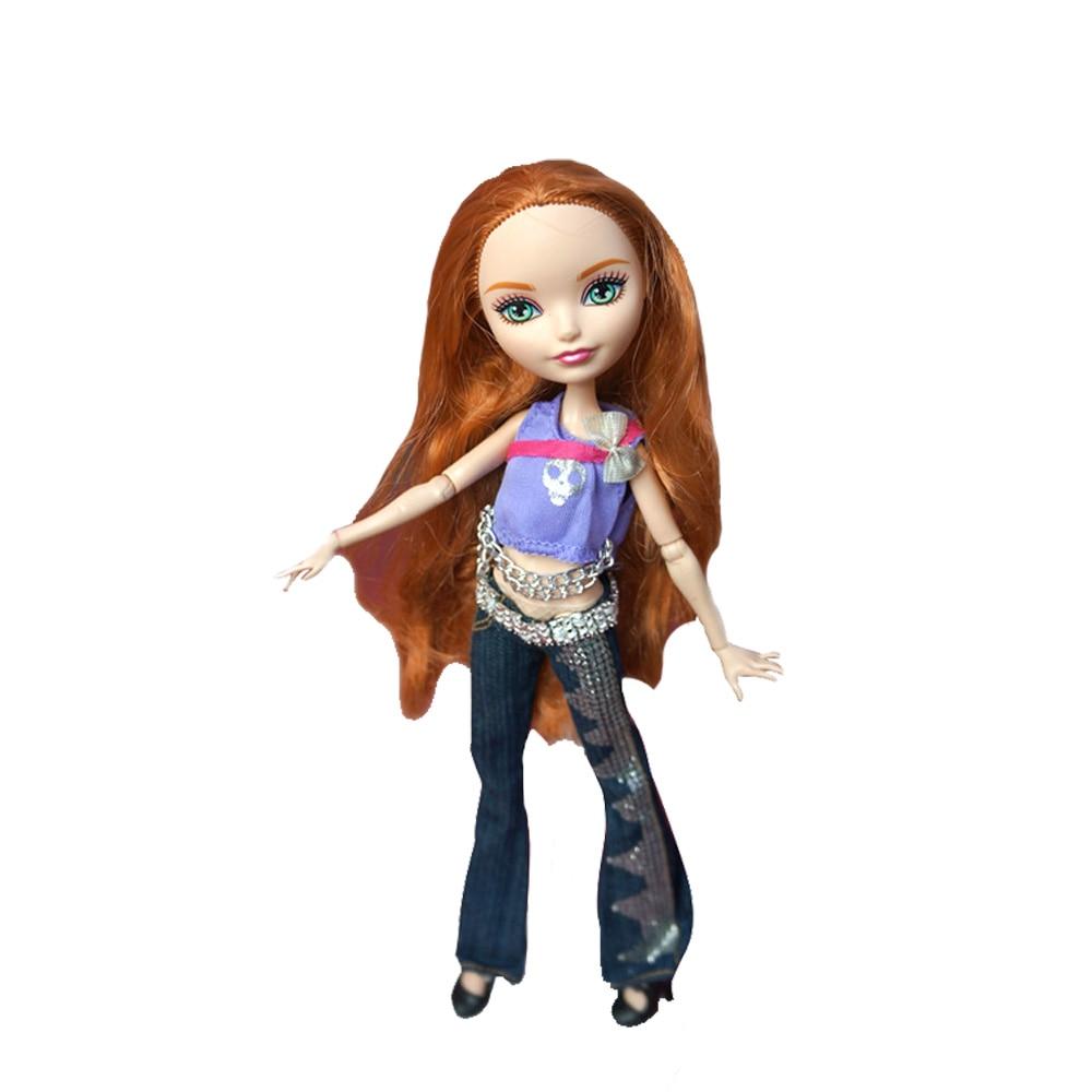 Rosana Kvalitet Casual Wear Kläder för Monster High Doll Klä upp - Dockor och tillbehör - Foto 3