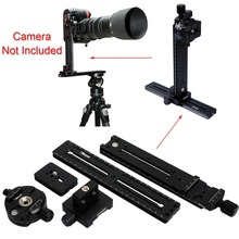 Pan Tilt Camera Bracket Mount Cantilever Combo Tripod Panorama Head 2 in 1 Clamp Linker 2