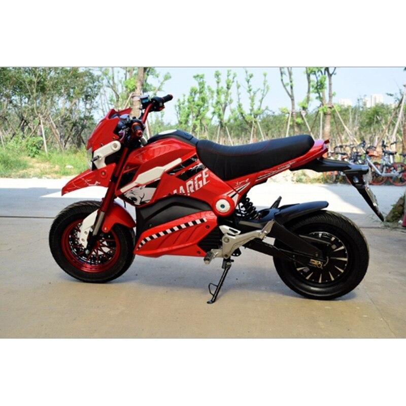Moto électrique Citycoco 1200 W scooter électrique 72 V/20A Double siège motos électriques bick