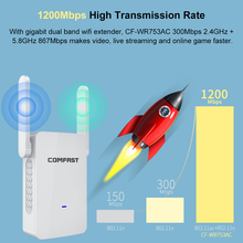 comfast 300Mbps Long Range 2.4Ghz /5Ghz Wireless Router Outdoor WIFI CPE Bridge