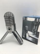 Original Samson Meteor Mic USB studio recording condenser microphone fold-back leg include USB cable for computer recording cheap Computer Microphone Single Microphone Tabletop Wired Cardioid