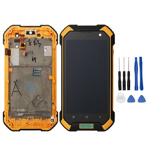 Image 3 - Alesser Android 7.0 For Blackview BV6000S LCD+Touch Screen With Frame Assembly Repair Parts +Tools +Film For Blackview BV6000