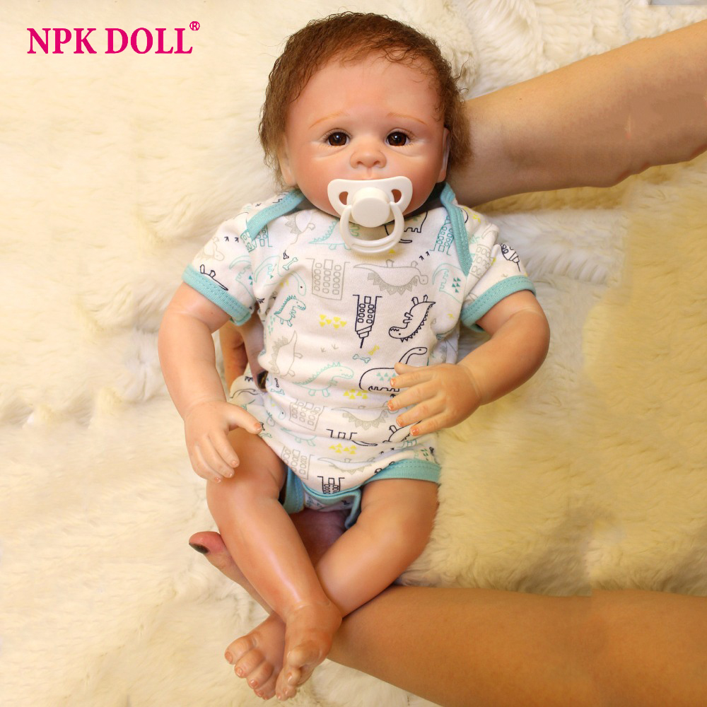 18 inches Reborn Baby Dolls YDK 88R1 Realistic Fake Baby Vinly Dolls For Children Girls Toys