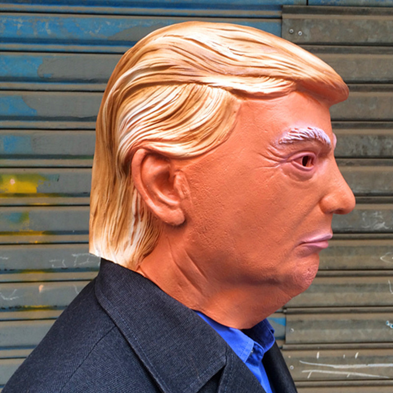 Donald Trump Mask Billionaire Presidential Costume Latex Cospaly Mask President