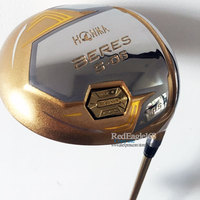 Cooyute New Gold Golf driver HONMA S 06 4star driver Golf clubs 9.5 or 10.5 loft Graphite Golf shaft and headcover Free shipping