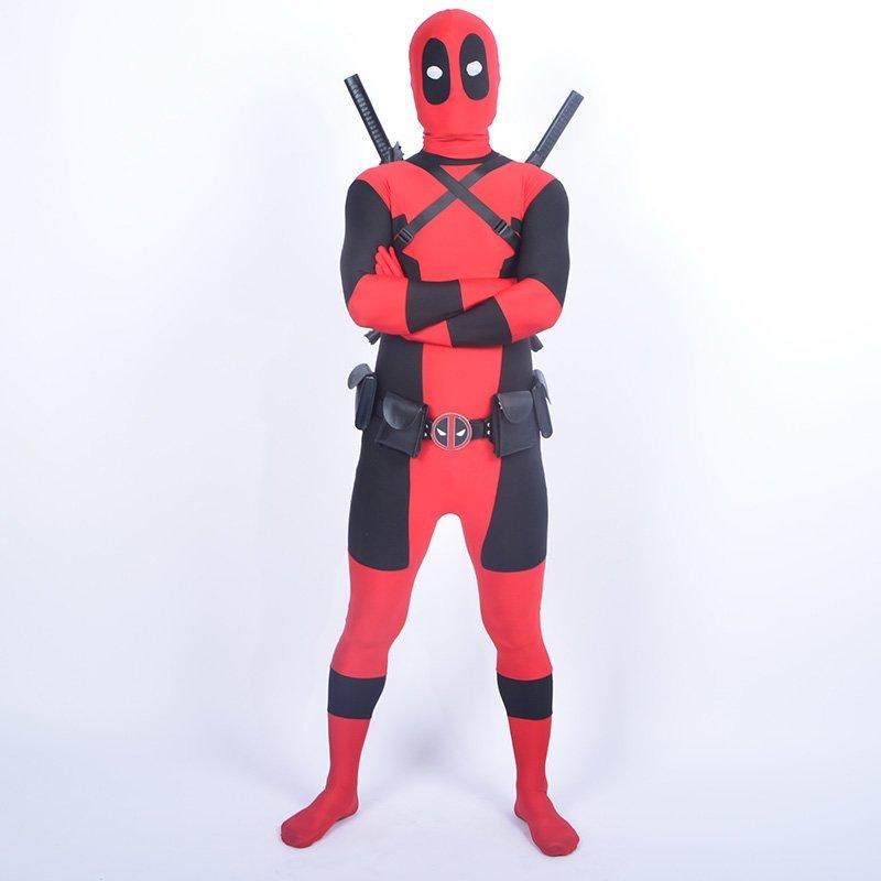 Cool KIds Deadpool κοστούμι κόκκινο πλήρες - Καρναβάλι κοστούμια - Φωτογραφία 4
