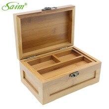 caja madera con tapa RETRO VINTAGE