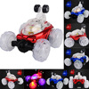 MUQGEW 2017 New Hot Sale 360 Spin Fashion Stunt Car Music Remote Control LED Lights Rechargeable