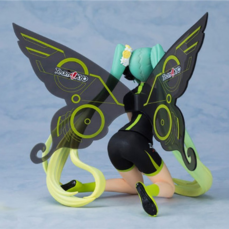 Tony Hatsune Miku Figure 2017 Ver. Racing Butterfly Miku PVC Action Figure Collectible Model no retial box (Chinese Version) 1