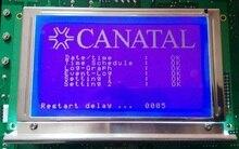 1 pçs wg240128a 240128a módulo lcd exatamente compatível com winstar display lcd t6963 driver ccfl backlight 100% novo