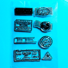 YLCS238 Post Stamp Silicone Clear Stamps For Scrapbook DIY Album Paper Card Decoration Embossing Folder Rubber Stamp 11*16cm цены