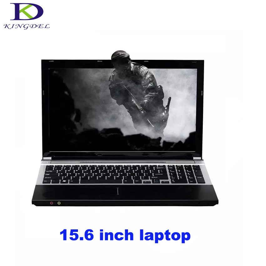Classic style 15.6 inch laptop Intel Pentium N3520 Quad Core netbook HDMI USB 3.0 WIFI Bluetooth DVD-RW home&work computer 1TB image