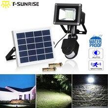 купить T-SUNRISE Solar Flood Light 20 LED Outdoor Lighting Garden Security Light Waterproof IP65 PIR Motion Sensor Wall Lamp по цене 2415.06 рублей