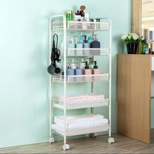 Beauty salon trolley rack mobile hair hairdressing tool car cosmetic storage