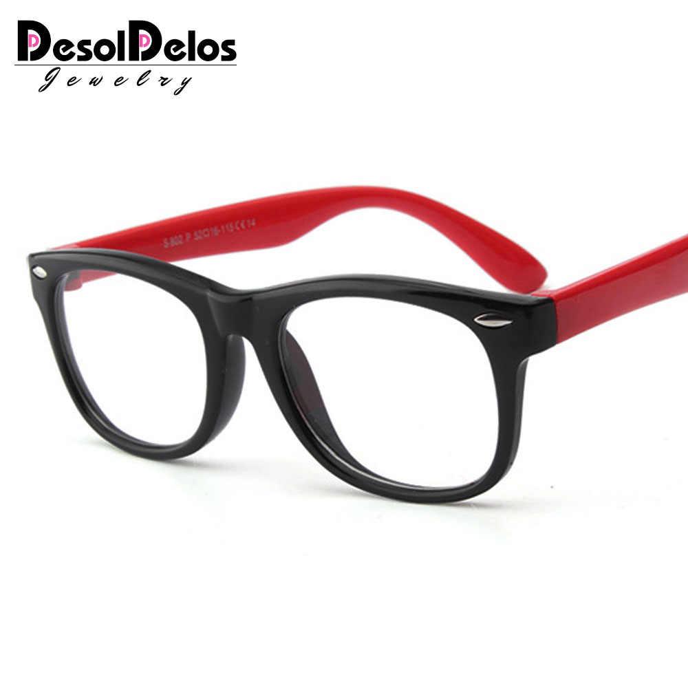 เด็กกรอบแว่นตาเด็กสาวกําหนดสายตาสั้นกรอบแว่นตาใสแว่นตากรอบแว่นตา Oculos 2019