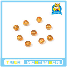 professional montessori material wooden educational toy mathematics 9 Golden Bead Units(China)