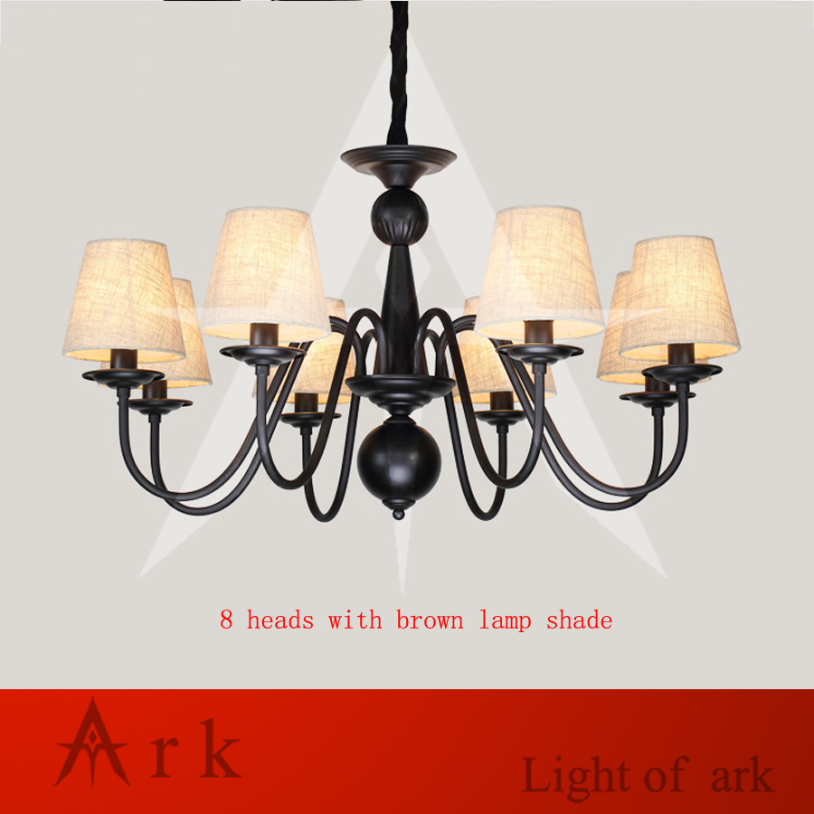 ARK LIGHT iron rural Nordic restaurant bedroom led European-style chandelier American country rural living room lamp цена
