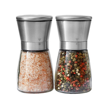 DINIWELL 1PC Pepper Grinder Salt Shaker for Professional Chef Stainless Steel Best Spice Mill Adjustable Coarseness Kitchen Tool