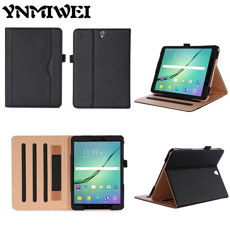 YNMIWEI Tab S3 T820 Flip PU Leather Case 9.7 inch Tablet Wallet Cover Fundas For Samsung Tab S3 9.7 T820 T825 Protective Stand new fashion tab s3 9 7 tablet case pu leather flip cover for samsung galaxy tab s3 9 7 inch t820 t825 cute stand cover 6 colors