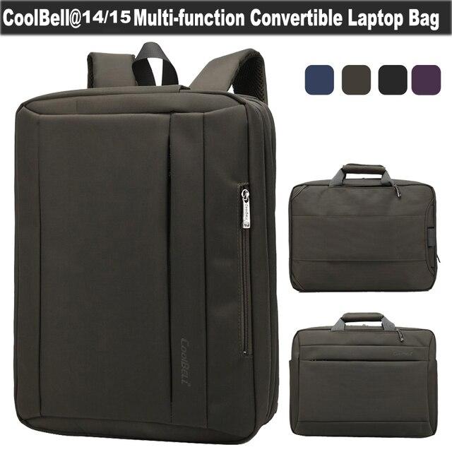 Borsa computer multifunzionale '' zaino Coolbell 6 per portatile da 15 f76bgy