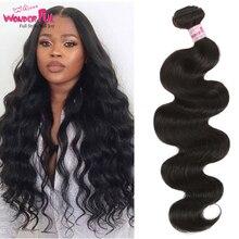 Оптовая продажа волос дешевые бразильский объемная волна наращивание волос 100% человеческих волос