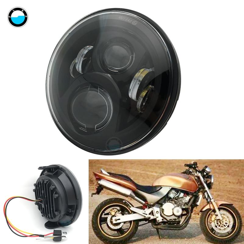 7 Inch 60W High/Low Beam For Honda CB400 CB500 CB1300 Headlamp 6000K 7INCH LED Headlight For Honda.