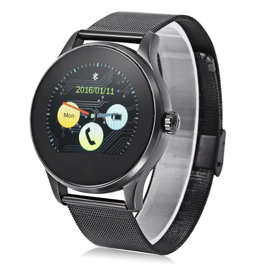 K88H Smart Watch IPS Round Screen Support Heart Rate ...