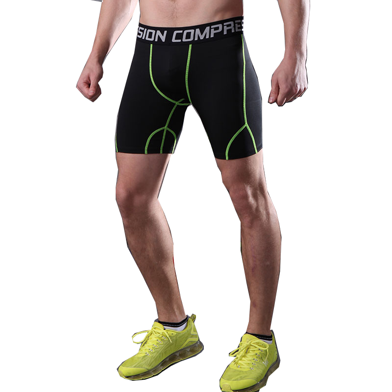 17bf3d797bac Fanceey hombres compresión corto correr medias hombres secado rápido  gimnasio Fitness deporte ...