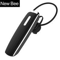 New Bee Hands Free Wireless Bluetooth Earphone Bluetooth Headset Headphones Earbud With Microphone Earphone Case For