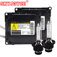SKYJOYCE Original 55W D4S Xenon HID Kit xenon D4S 6000K 4300K 5000K 8000K D2S D2R ballast kit parts No.85967 51050 Car Headlight