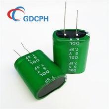 2 sztuk tajwan 5V7.5F super Fala kondensator 5.0V7.5F połączony kondensator