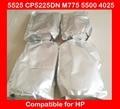 Alta qualidade pó de toner de cor compatível HP 5525 CP5225DN M775 5500 4025 recarga de toner, Pó frete grátis