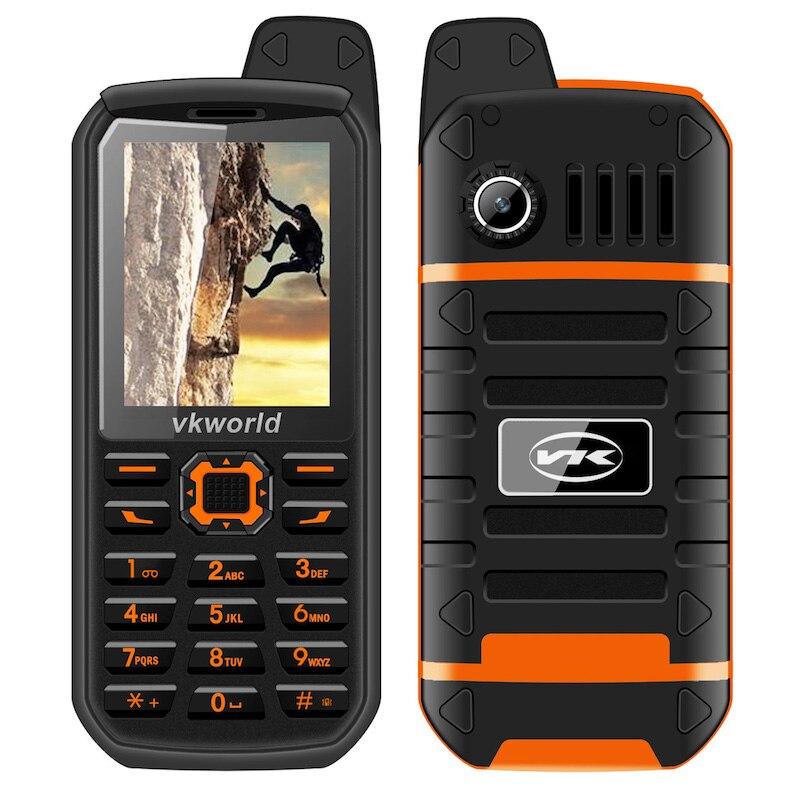 VKWorld Stone V3 Plus 3000mAh Battry  Mobile Phone 2.4 inch IP54 Waterproof Elder Man FM Radio Dual SIM GSM CellPhones