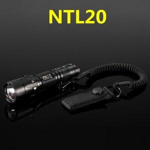 Image 4 - Nitecore NTL10 NTL20懐中電灯戦術的なストラップパンチステンレス鋼リング安全ロープ25.4ミリメートル直径ランプ
