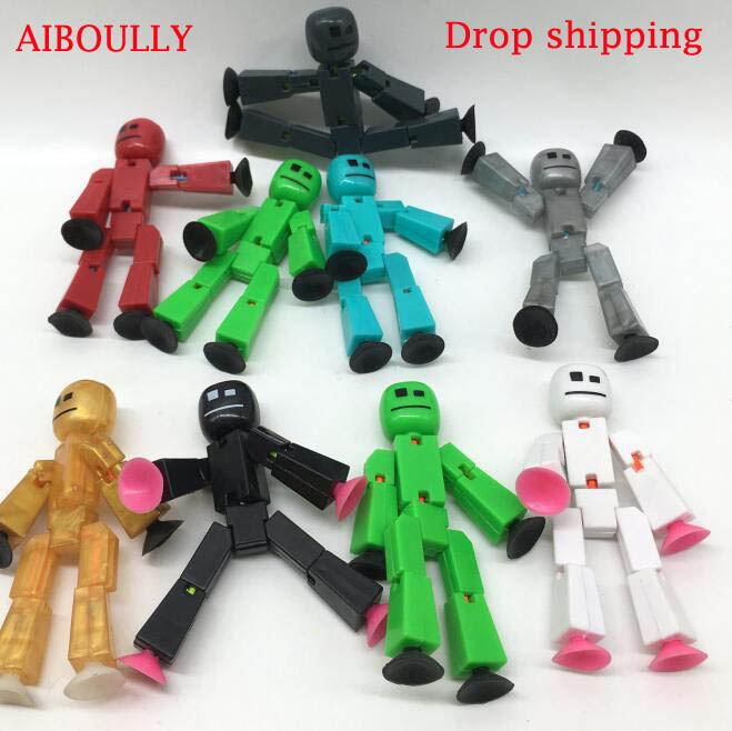 Drop Shipping Stikbot Z Animation Studio Toy Shed Make Stop Motion Films With Cute Figurines Animation Interesting Gift Toys(China)