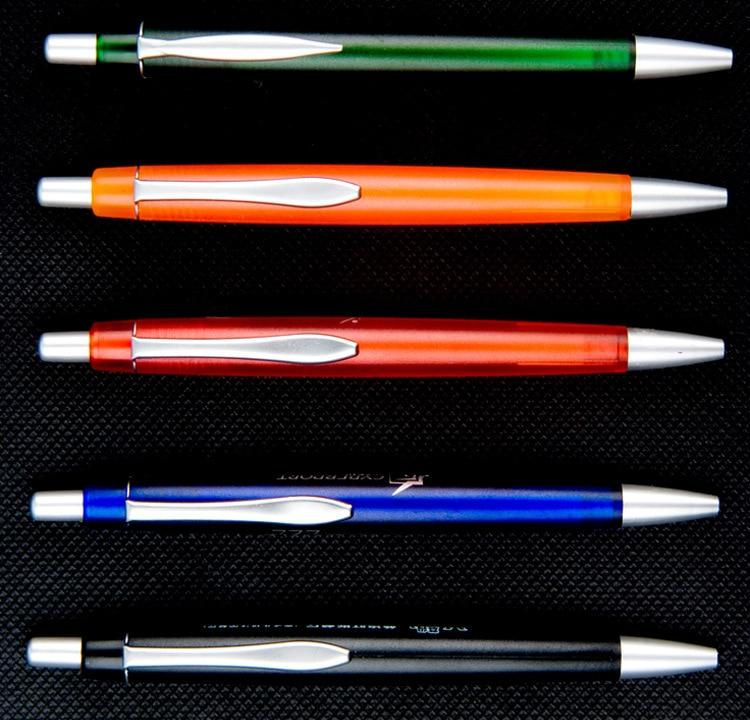 QSHOIC DHL 1000 pcs/lot, y compris 1 couleur logo stylo à bille promotionnel publicité cadeau stylo école stylo promotionnel
