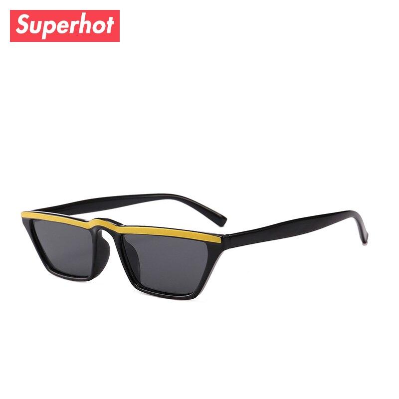 b39a9344ca3 Superhot Eyewear 2018 Fashion Small Rectangle Sunglasses Plastic Men Women  Brand Designer Sun glasses Shades 20733-in Sunglasses from Apparel  Accessories on ...