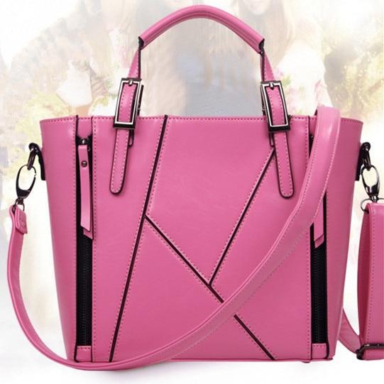 2016 fashion women messenger bags patchwork handbags tote bolsas new shoulder bags fresh lady crossbody bags hot sales