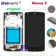 Gpadparts Original Lcd screen For LG Nexus 5 D820 D821 lcd display touch screen digitizer screen
