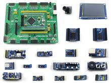 STM32 זרוע Cortex-M4 פיתוח לוח STM32F407ZxT6   3.2 inch 320x240 מגע LCD   16 מודולים = Open407Z-C חבילה B משלוח חינם