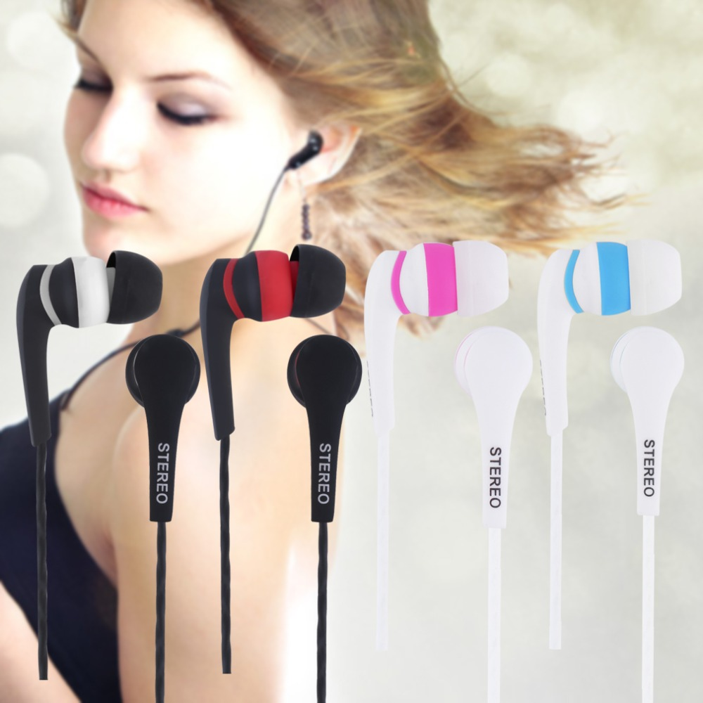 3.5mm In-ear Stereo Earbuds  Earphone  Without MIC For Phones promotion