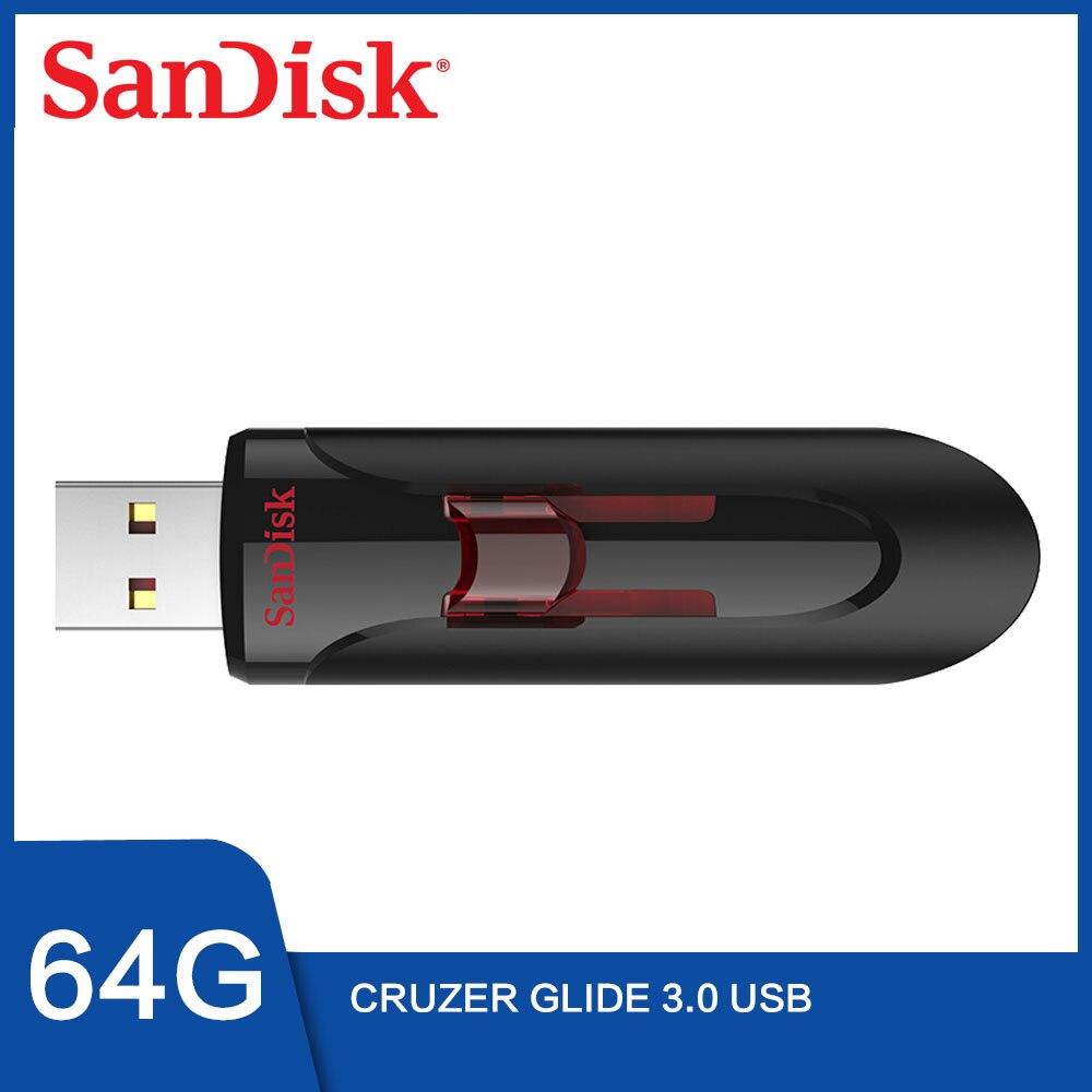 Sandisk Cruzer Glide 32gb Flash Drive USB 2.0 USB 3.0 Brand New In Package