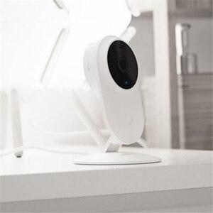 Image 4 - オリジナルシャオ mi mi mi 嘉 1080 1080p スマート Ip カメラ 130 度 2.4 グラム無線 Lan 10 メートル赤外線ナイトビジョン NAS mi c スピーカーセキュリティモニター