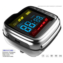 Dropshipper diabetic equipment lllt soft cold laser therapy wrist watch for blood pressure цены