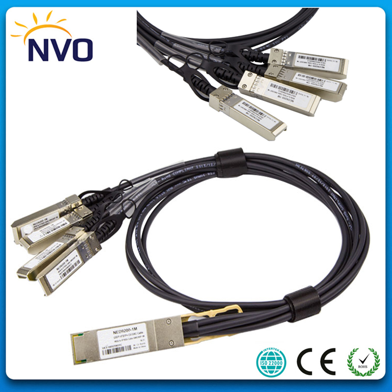 40G QSFP-4SFP+ 30AWG 3M Passive Copper Direct Attach Cable, 40G QSFP to QSFP DAC Copper Twinax Direct Attach Cable40G QSFP-4SFP+ 30AWG 3M Passive Copper Direct Attach Cable, 40G QSFP to QSFP DAC Copper Twinax Direct Attach Cable