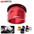 6 color Motorcycle accessories CNC Aluminum  Exhaust Tip Cover For Yamaha T-max 530 2012-2015
